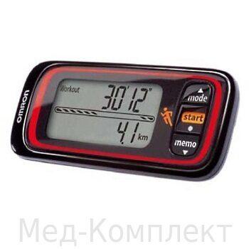 Шагомер Omron Jog Style (HJA-300 EK) черный.